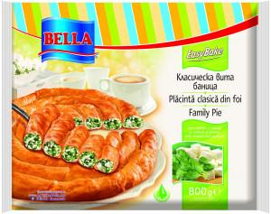 БЕЛА, Вита баница със спанак и сирене в тарелка 800 г