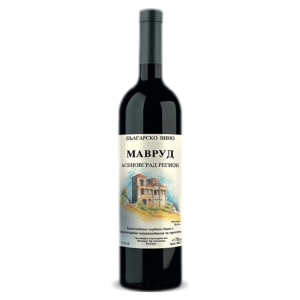 МАВРУД, Асеновград, червено сухо вино 0.75 л.