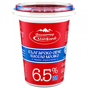 МАДЖАРОВ, овче кисело мляко 6,5% 400ml