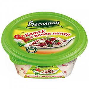 ВЕСЕЛИНА, Катък с печен пипер, 250гр