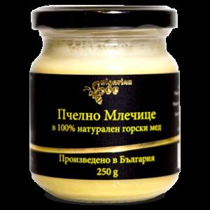 Bulgarian Bee Пчелно Млечице в 100% натурален горски мед