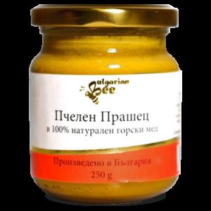Bulgarian Bee Пчелен Прашец с Мед БИО, 250г