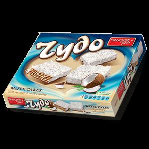 ЧУДО, Вафлена торта с кокос и млечна глазура 170г