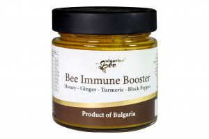 Bulgarian Bee, Пчелен мед с имуно стимулатор, БИО 250г