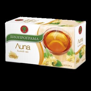 БИОПРОГРАМА чай Липа 20 пакетчета