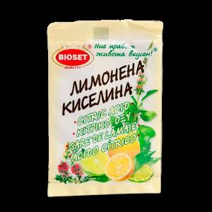 БИОСЕТ, Лимонена киселина 10g