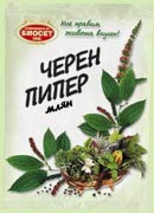 БИОСЕТ, Черен пипер - млян 50 g