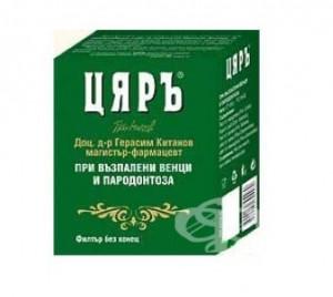 ЦЯРЪ Планински чай При възпалени венци и пародонтоза 30 бр. х 1.5гр