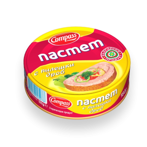 КОМПАС,Пастет Пилешки 100 g