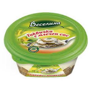 ВЕСЕЛИНА, Тиквички с млечен сос, 250гр