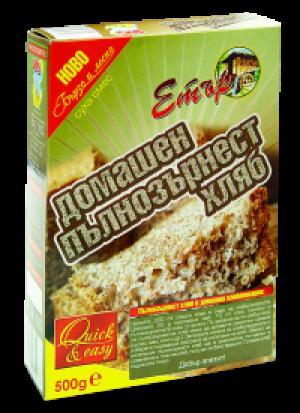 ЕТЪР, Суха смес домашен пълнозърнест хляб 500g