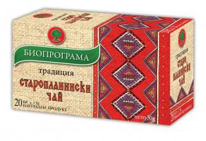 БИОПРОГРАМА, Чай Старопланински, 20бр