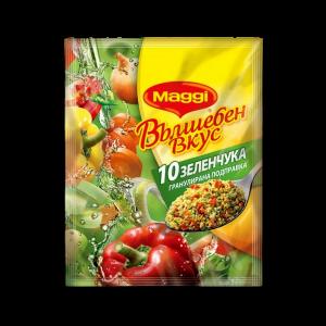 МАГИ, Вълшебен вкус 10 зеленчука 75 g