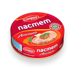 КОМПАС,Пастет Апетит 300 g
