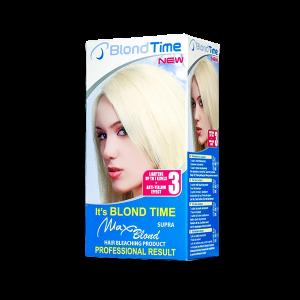 BLOND TIME MAX BLOND 3, Супра изрусител за коса 102 ML