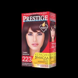 ПРЕСТИЖ, крем боя за коса, тъмен махагон Nr 223