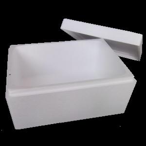 Стиропорени кутии и батерии