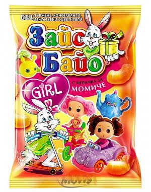 ЗАЙО БАЙО, GIRL с играчка 40g