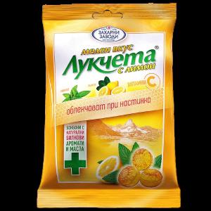 ЛУКЧЕТА медени с лимон 90g