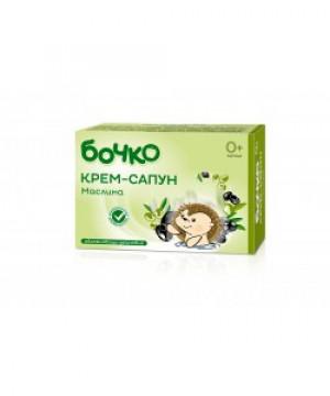 БОЧКО Крем-сапун Маслина 75g