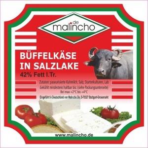 МАЛИНЧО, Биволско сирене 42% Fett i.Tr. вак. 200g