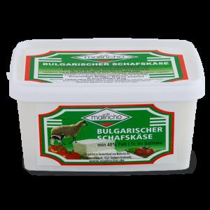 МАЛИНЧО, Овче саламурено сирене 48 % Fett i. Tr., в пластмасова кутия 800 g
