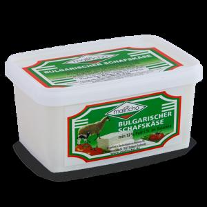 МАЛИНЧО, Овче саламурено сирене 52 % Fett i. Tr., в пластмасова кутия 400 g