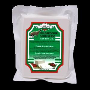 МАЛИНЧО, Овче саламурено сирене 48 % Fett i. Tr., вакуумирано 800 g .