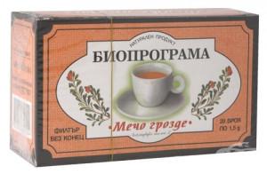 БИОПРОГРАМА, Чай Мечо грозде, 20бр