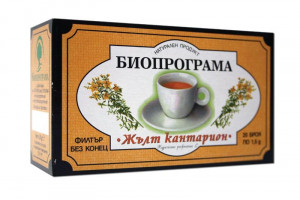 БИОПРОГРАМА, Чай жълт кантарион 20 бр