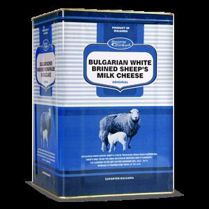 МАДЖАРОВ, бяло овче саламурено сирене в метална кутия  800 g