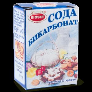 БИОСЕТ, Сода бикарбонат - кутия 80 g