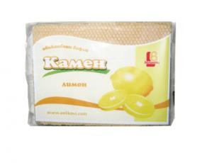 Обикновени вафли Камен, с вкус на лимон, 220гр