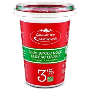 МАДЖАРОВ, Козе кисело мляко 3% 400ml