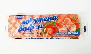 Сайманс, Локумена Вафла с аромат на ягода, 60гр