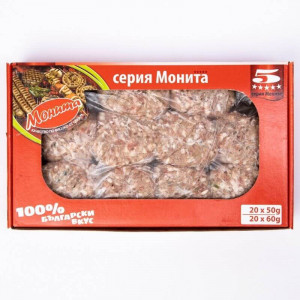 МОНИТА, Кебапчета и кюфтета 1,20кг