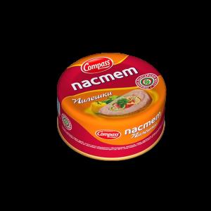 КОМПАС, Пилешки пастет 180 гр