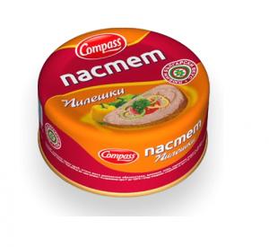 КОМПАС, Пилешки пастет 300 гр