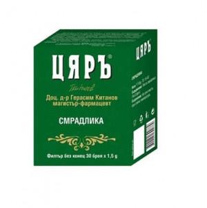 ЦЯРЪ Планински чай Смрадлика 30 бр. х 1.5гр