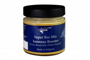 Bulgarian Bee, Пчелно млечице в горски мед 3 в 1 БИО 250г